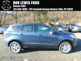 2018 Blue Metallic Ford Escape SE 4WD #124065911