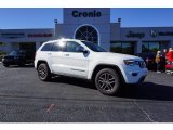2017 Bright White Jeep Grand Cherokee Limited #124074971