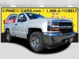 2018 Silver Ice Metallic Chevrolet Silverado 1500 LS Regular Cab #124074875