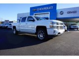 2018 Iridescent Pearl Tricoat Chevrolet Silverado 1500 High Country Crew Cab 4x4 #124074991