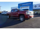 2018 Cajun Red Tintcoat Chevrolet Silverado 1500 High Country Crew Cab 4x4 #124074990