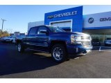 2018 Deep Ocean Blue Metallic Chevrolet Silverado 1500 High Country Crew Cab 4x4 #124074989