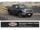 2018 Midnight Black Metallic Toyota Tundra Limited CrewMax 4x4 #124094405