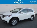 2014 White Diamond Pearl Honda CR-V EX AWD #124094350