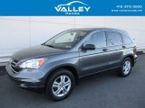 2011 Polished Metal Metallic Honda CR-V EX 4WD #124094348