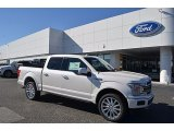 2018 White Platinum Ford F150 Limited SuperCrew 4x4 #124094548