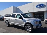 2018 Ingot Silver Ford F150 STX SuperCrew 4x4 #124094547