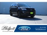 2017 Shadow Black Ford Explorer XLT #124094587