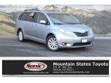 2012 Silver Sky Metallic Toyota Sienna XLE AWD #124094420
