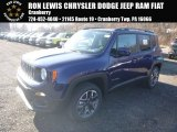2017 Jetset Blue Jeep Renegade Latitude 4x4 #124094479