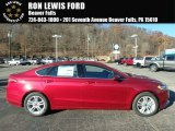 2018 Ruby Red Ford Fusion SE #124094473