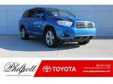 2008 Blue Streak Metallic Toyota Highlander Limited #124118639