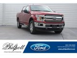 2018 Ruby Red Ford F150 XLT SuperCrew 4x4 #124118636