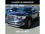 2018 Blue Steel Metallic GMC Acadia SLE AWD #124118698