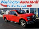 2016 Race Red Ford F150 XLT SuperCab 4x4 #124118559