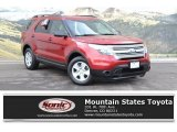 2013 Ruby Red Metallic Ford Explorer 4WD #124141040