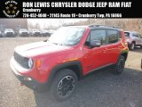 2017 Colorado Red Jeep Renegade Trailhawk 4x4 #124141075