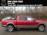2018 Ruby Red Ford F150 King Ranch SuperCrew 4x4 #124165863