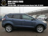 2018 Blue Metallic Ford Escape SE 4WD #124165859