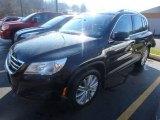 2011 Deep Black Metallic Volkswagen Tiguan SE 4Motion #124165891