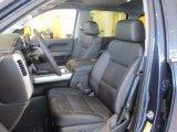 2018 Chevrolet Silverado 1500 LTZ Crew Cab 4x4 Jet Black Interior