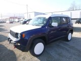 2017 Jetset Blue Jeep Renegade Trailhawk 4x4 #124165939