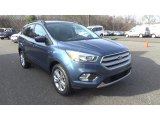 2018 Blue Metallic Ford Escape SE 4WD #124187875