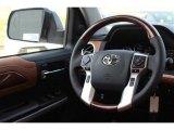 2018 Toyota Tundra 1794 Edition CrewMax 4x4 Steering Wheel