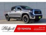 2018 Magnetic Gray Metallic Toyota Tundra SR5 CrewMax 4x4 #124203092
