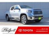 2018 Silver Sky Metallic Toyota Tundra 1794 Edition CrewMax 4x4 #124203089