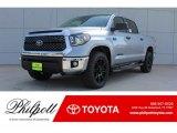 2018 Silver Sky Metallic Toyota Tundra TSS CrewMax #124203088
