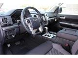 2018 Toyota Tundra TSS CrewMax Black Interior