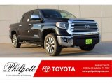 Midnight Black Metallic Toyota Tundra in 2018