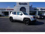 2017 Glacier Metallic Jeep Renegade Latitude #124220147