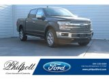 2018 Magma Red Ford F150 Lariat SuperCrew 4x4 #124220169