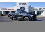 Shadow Black Ford F150 in 2017