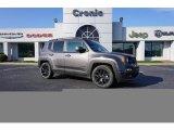 2017 Granite Crystal Metallic Jeep Renegade Latitude #124220148