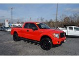 2014 Race Red Ford F150 STX SuperCab 4x4 #124237938