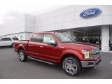2018 Ruby Red Ford F150 Lariat SuperCrew 4x4 #124237937
