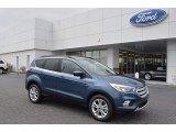 2018 Blue Metallic Ford Escape SE #124237935