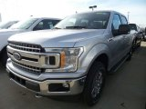 2018 Ingot Silver Ford F150 XLT SuperCrew 4x4 #124258070