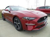 2018 Ruby Red Ford Mustang EcoBoost Premium Convertible #124258069