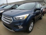2018 Blue Metallic Ford Escape SE 4WD #124258068
