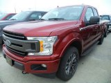 2018 Ruby Red Ford F150 XLT SuperCab 4x4 #124258066