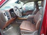 2018 Chevrolet Silverado 1500 High Country Crew Cab 4x4 High Country Saddle Interior