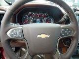 2018 Chevrolet Silverado 1500 High Country Crew Cab 4x4 Steering Wheel