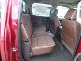 2018 Chevrolet Silverado 1500 High Country Crew Cab 4x4 Rear Seat
