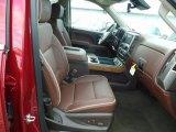 2018 Chevrolet Silverado 1500 High Country Crew Cab 4x4 Front Seat