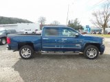 2018 Deep Ocean Blue Metallic Chevrolet Silverado 1500 High Country Crew Cab 4x4 #124257862