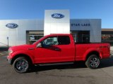 2018 Race Red Ford F150 XLT SuperCab 4x4 #124258139